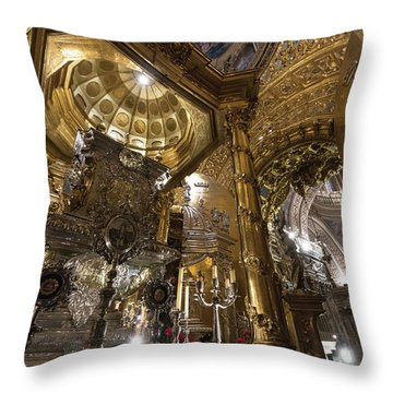 Throw Pillow featuring the photograph Treasures by Alex Lapidus