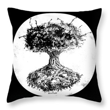 Tree Of Knowledge Throw Pillow