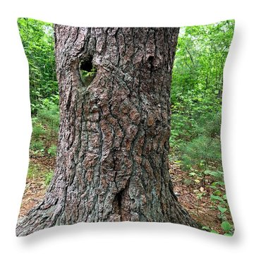 Tree People - Harry  Throw Pillow