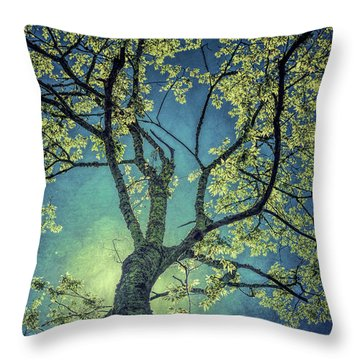Tree Tops 0945 Throw Pillow
