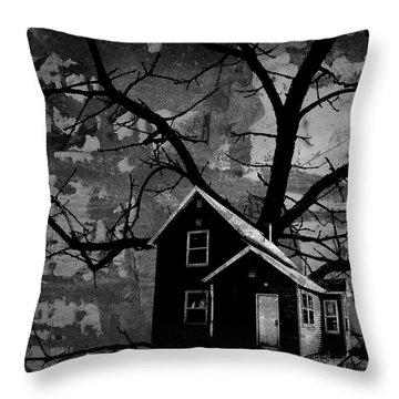 Treehouse II Throw Pillow