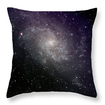 Triangulum Galaxy Throw Pillows