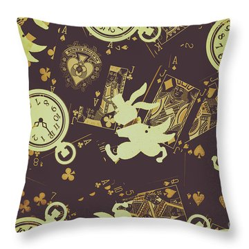 Tricks And Illusions Throw Pillow