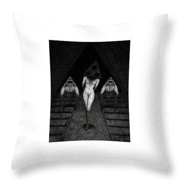 Trigia And The Dethiligox - Artwork Throw Pillow