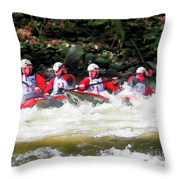 Triple Crown-21 Throw Pillow