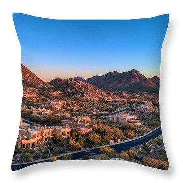 Troon Village Throw Pillow