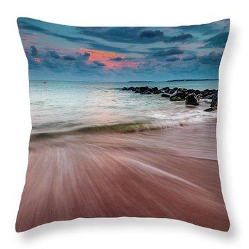Tropic Sky Throw Pillow