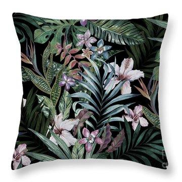 Hibiscus Flower Throw Pillows