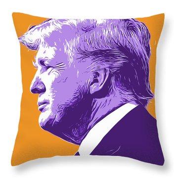 Trump Popart Throw Pillow