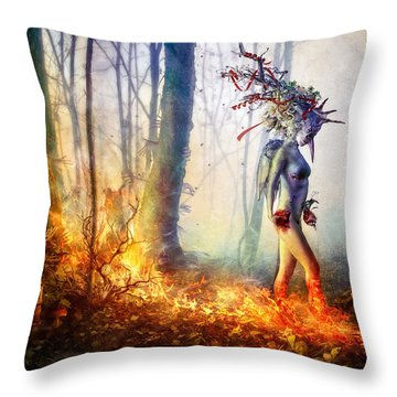 Trust In Me Throw Pillow