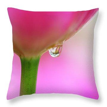 Tulip Drop Throw Pillow