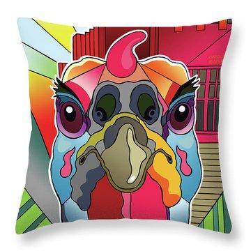 Turkeypalooza Throw Pillow