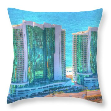 Turquoise Place Throw Pillow