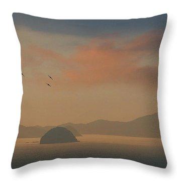 Twilight Calm Throw Pillow