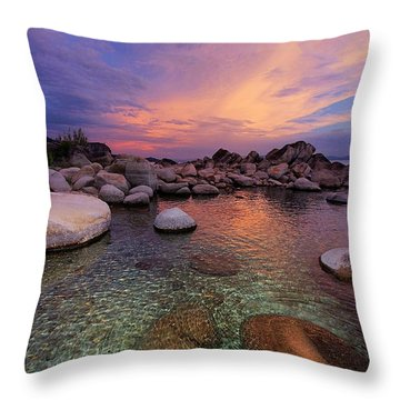Twilight Canvas  Throw Pillow