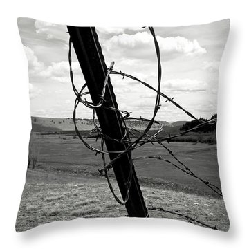 Throw Pillow featuring the photograph Twisted by Carl Young