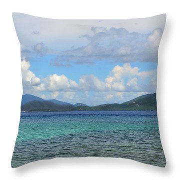 Two Nations Throw Pillow