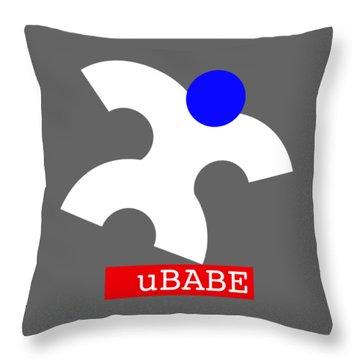 Ubabe Jazz  Throw Pillow