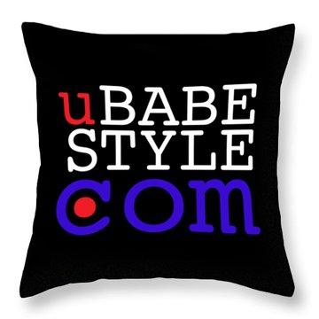 Ubabe Style Dot Com Throw Pillow