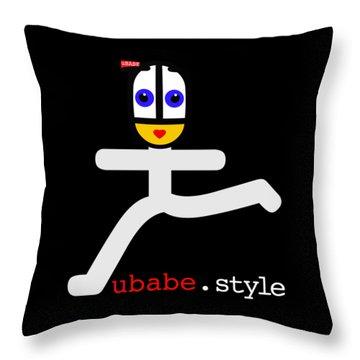 Ubae Style Runner Throw Pillow