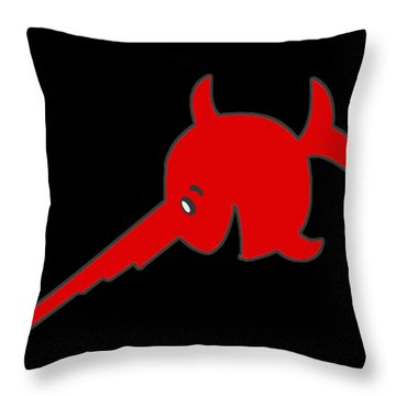 Uboat Swordfish Throw Pillow