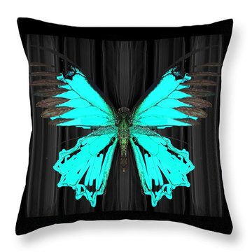Ulysses Black Bkgd 1 Throw Pillow
