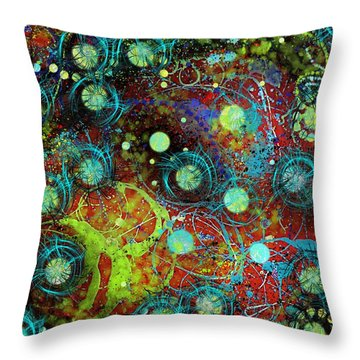 Under The Sea Digital 3 Throw Pillow