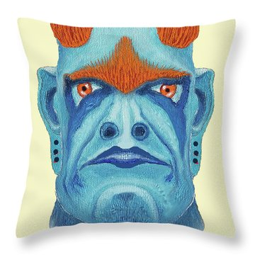 Undorkhan, Maggotroll Colonel Throw Pillow
