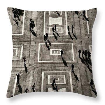 Spectators Throw Pillows