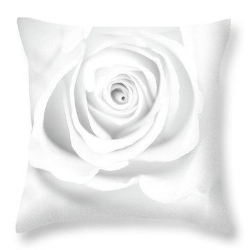 Untainted Throw Pillow