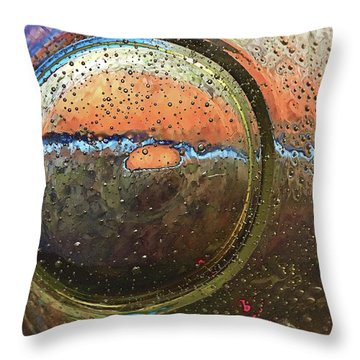 Untitled 5799b Throw Pillow