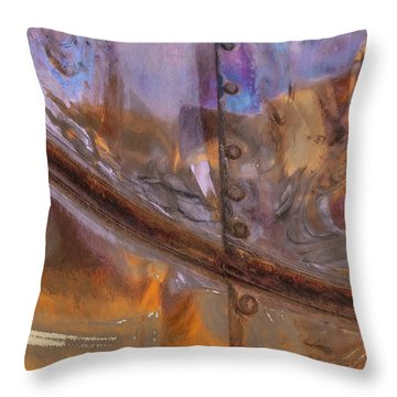 Untitled 9113b Throw Pillow