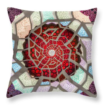 Untitled Meditation Throw Pillow