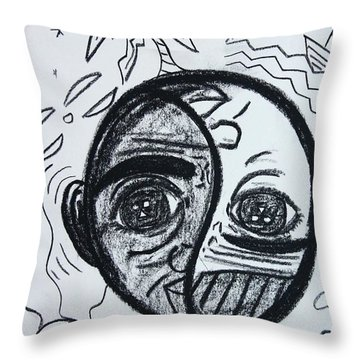 Untitled Sketch IIi Throw Pillow