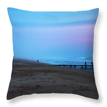 Throw Pillow featuring the photograph Up Before Sunrise by Lora J Wilson