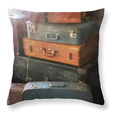 Up In The Attic Throw Pillow