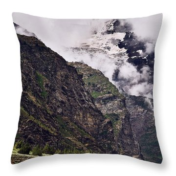 Throw Pillow featuring the photograph Up In The Clouds by Whitney Goodey