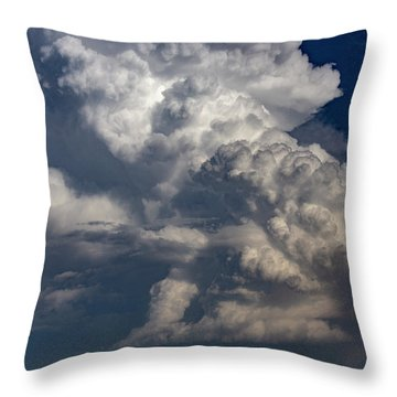 Updrafts And Anvil 008 Throw Pillow