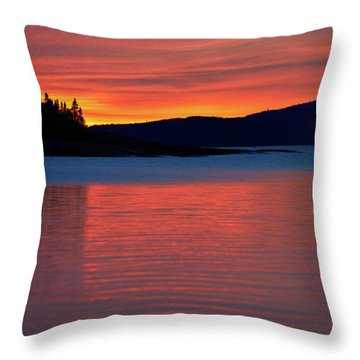 Upended Throw Pillow