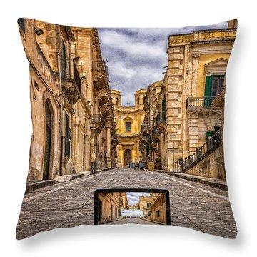 Upgrade Architecture Throw Pillow