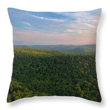 Upstate New York  Throw Pillow