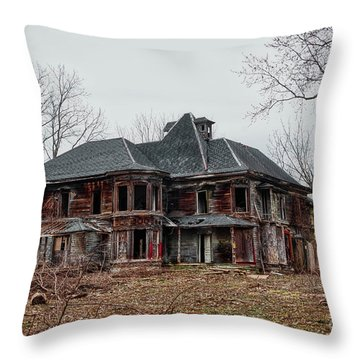Urban Exploration Throw Pillow