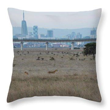 Urban Pride Throw Pillow