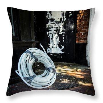 Throw Pillow featuring the photograph Urbanscape by Juan Contreras
