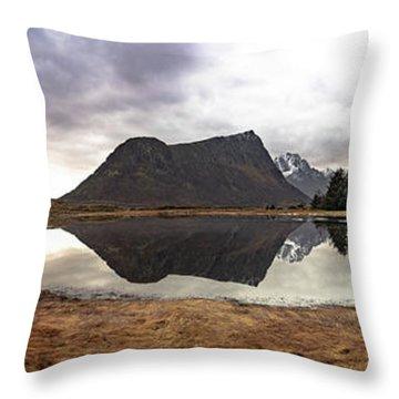 Uttakleiv Reflections Throw Pillow