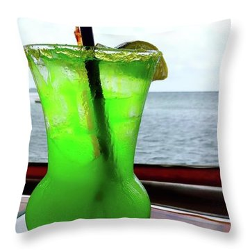 Vacation Medication Throw Pillow