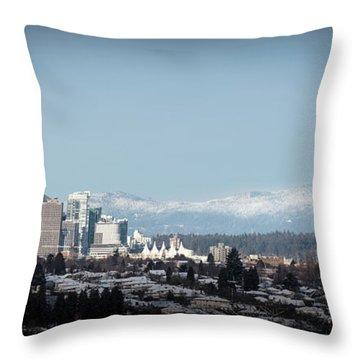 Vacouver Winter 1 Throw Pillow