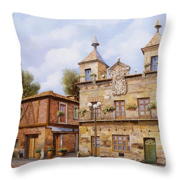 Valderas-spain Throw Pillow