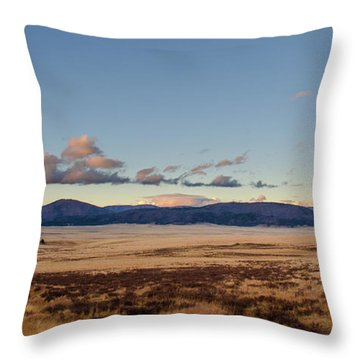 Throw Pillow featuring the photograph Valles Caldera National Preserve by Jeff Phillippi