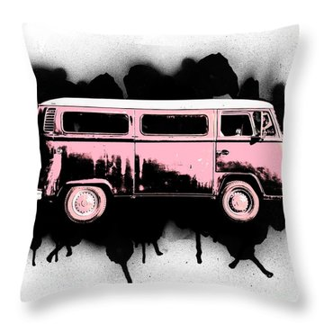 Van Go Throw Pillow